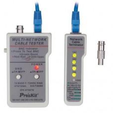 Probador de cables. RJ45/BNC