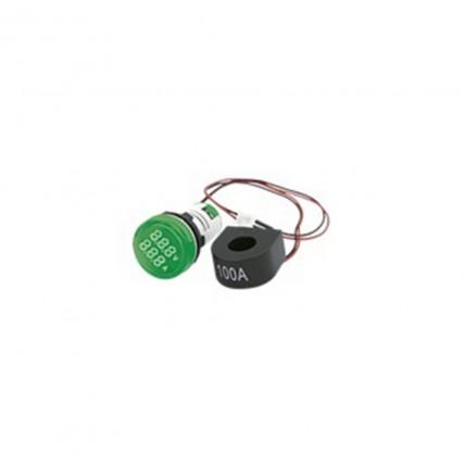 Voltímetro-Amperímetro verde