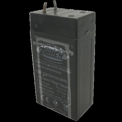 Batería de gel 6V 2.8A