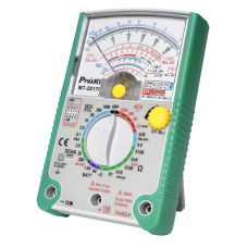 Multímetro analógico - 1000V - Null DCV - Medicion Pilas 1.5V/9V - Buzzer