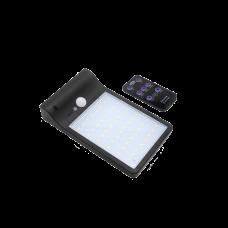 Luminaria Solar  3W C/control y Color luz adjustable