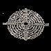 Rejilla metálica 85x85mm