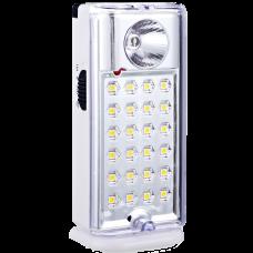 Luz de emergencia recargable 24+1 LED