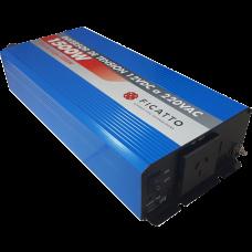 Inversor de tensión 1500W c/USB - Onda sinusoidal modificada