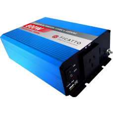 Inversor de tensión 800W c/USB - Onda sinusoidal modificada