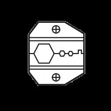 Mordaza p/conectores coaxiales