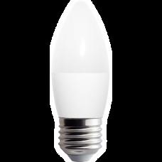 Lámpara vela E27 3.5W fría