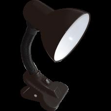 Velador 4W neutro. Color: Negro