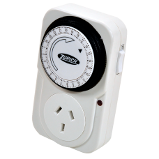 Timer mecánico enchufable 2200W